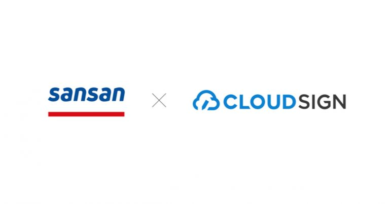 ogp 767x403 - Business card-based contact management service Sansan forms tie-up with electronic contractmanagement service CloudSign